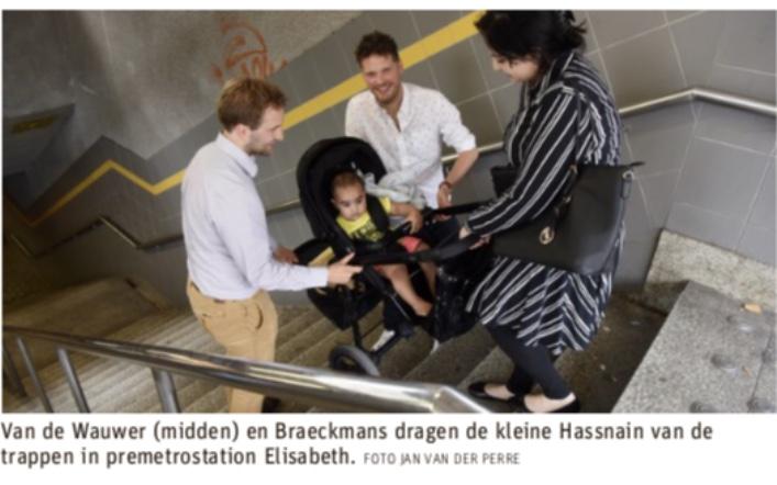CD&V klaagt toegankelijkheidsstatus Antwerpse premetrostations aan (GVA)