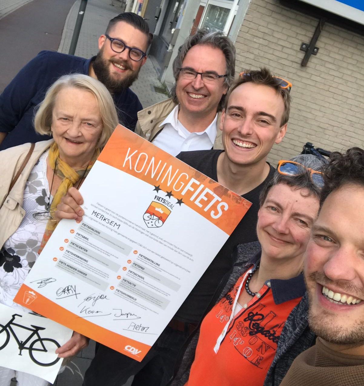 CD&V Merksem lanceert Merksemse fietsdeal
