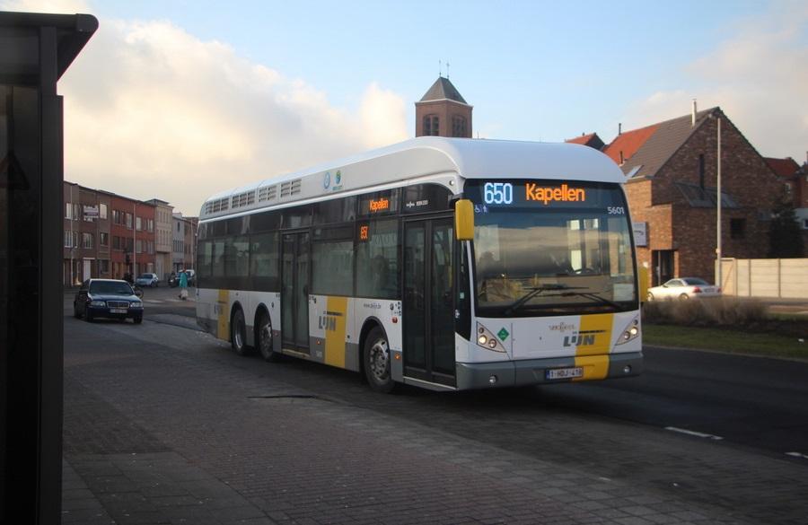 Nieuwdreef zal terug ontsloten worden door buslijn 650