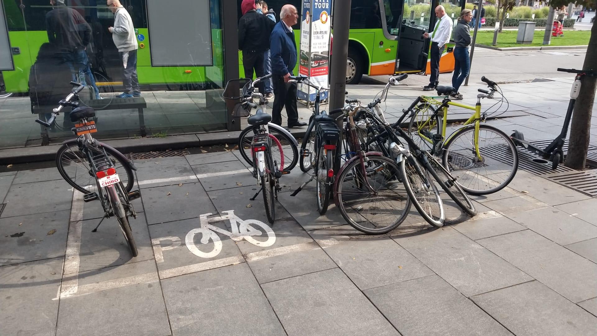 Betalen voor een ondermaatse fietsstalling?