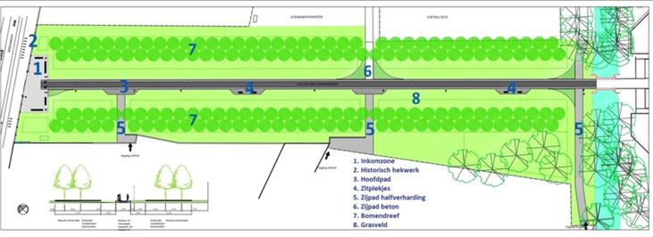 Inkom Bouckenborghpark & Gaston Berghmansdreef wordt vernieuwd